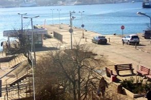 Plaza General Zakharov. Muelle Webcams de Sevastopol